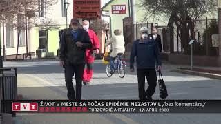 ŽIVOT V MESTE SA POČAS EPIDÉMIE NEZASTAVIL /bez komentára/