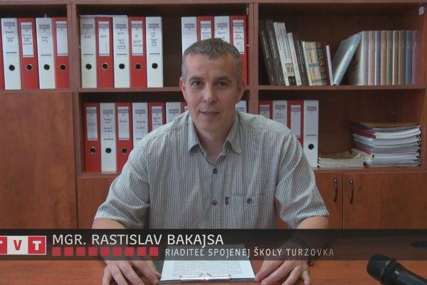 SLÁVNOSTNÝ PRÍHOVOR PRI PRÍLEŽITOSTI UKONČENIA ŠKOLSKÉHO ROKA V SPOJENEJ ŠKOLE V TURZOVKE