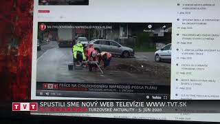 SPUSTILI SME NOVÝ WEB TELEVÍZIE WWW.TVT.SK